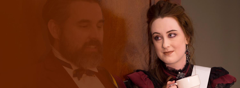 Charlotte Kippax playing Serafima Potemkin